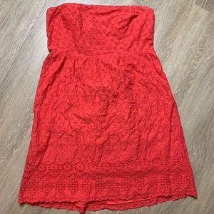 🎉5 for $25🎉 Old Navy Eyelet Strapless Dress